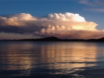 Upcoming Storm Over Lake Titicaca