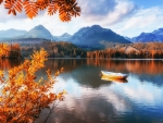 Tatra Mountains at Fall