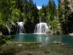 Park Waterfall, Hanging Lake, Rocky Mountain NP, Colorado