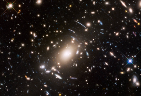 Galaxy Cluster Abell S1063 and Beyond - cool, galaxies, space, stars, fun