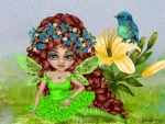 FAIRY IN GREEN