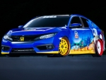 "2016 Honda ""Sonic the Hedgehog"" Civic"