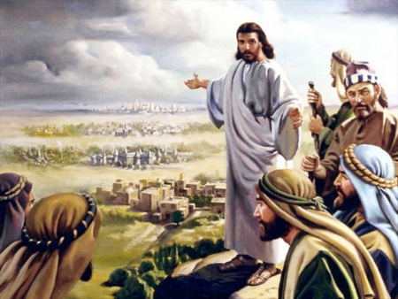 Jesus preaching - Jesus Christ, the Lord Wallpapers and ...  Jesus preaching...