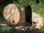 Empty tomb of Jesus