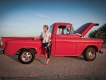 Pin Up Truck Gal