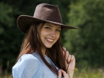 "Cowgirl ""Isabella"" with a Big Smile"