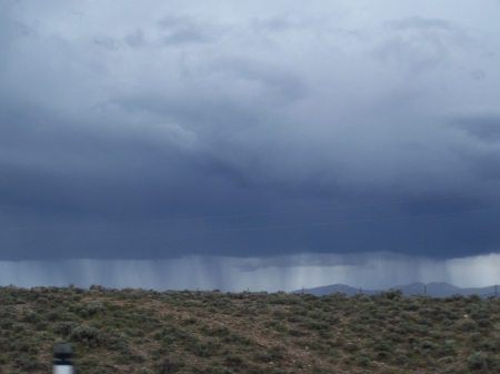 Summer rain showers on the desert - Nature, Desert, Storms, Sky