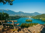 Lake Bled Overview, Slovenia
