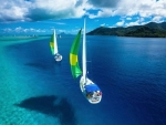 Tahiti - Floating or Flying ?