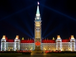 The Canadian Parliament Building, Ottawa