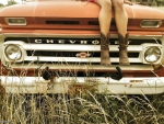 Boots On Her Truck..
