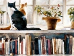 Book Ends - Cats f