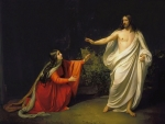 A. Ivanov. Christ and Mary Magdalene