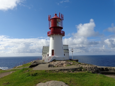 Lindesnes - coast, norway, lighthouse, point