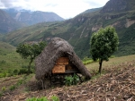 Shack in Peruvian Andes