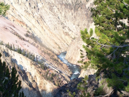 Grand Canyon of West Yellowstone River - Rivers, National Parks, Mountains, Tourism, Canyons, Scenic