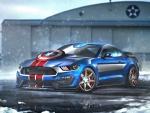 Captain America Ford Mustang