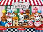 Puppy Ice Cream Parlor