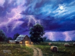 Countryside Thunderstorm