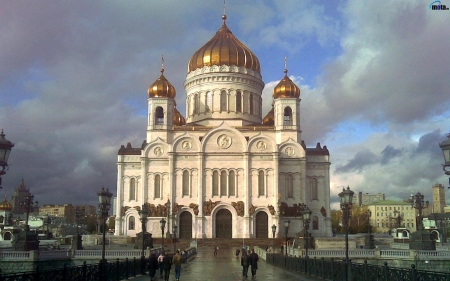 Cathedral of Christ the Savior - orthodox, Savior, Russia, Christ, cathedral