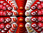Kansas City Chiefs Background orbs 1