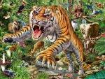 Attacking Tiger
