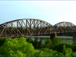 truss railroad bridge