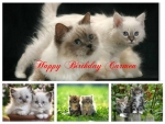 ~ ♥ღ Happy Birthday Carmen ღ♥ ~