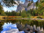 Yosemite River at Fall