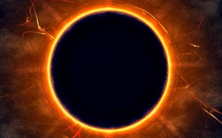 Black Hole Sun - Fantasy & Abstract Background Wallpapers ...