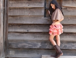 Cowgirl In A Skirt..