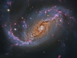 NGC 1672 Barred Spiral Galaxy