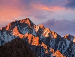 macos Sierra Stock Mountains