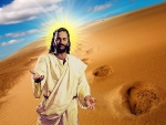 In the desert with JESUS