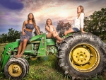Cowgirls & Tractors..
