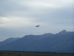 Landing, Jackson Hole, Wyoming Airport
