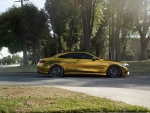 Gold Mercedes-Benz S500 Coupe On ZS03 Zito Wheels