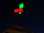 66 Motel Neon Sign (Needles, CA)