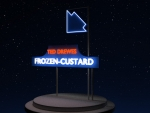 Ted Drewes Frozen-Custard Neon Sign