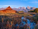 Mormon Row, Grand Tetons, Wyoming