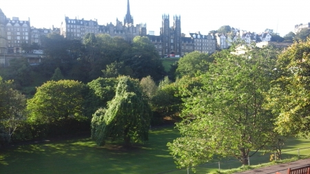 Princes Street Gardens Edinburgh - Princes Street Gardens, Scotland, Capital of Scotland, Edinburgh