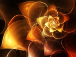 Golden rose fractal