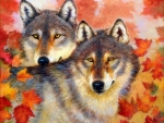 Wolf Eyes of Fall