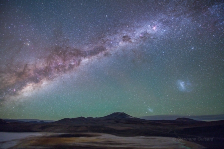 Galaxies from the Altiplano - space, cool, stars, galaxies, fun