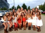 Cowgirl UT Tailgate Party..