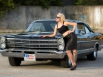 1967 Ford Galaxie 500 and Model