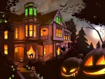 Halloween Night Mansion