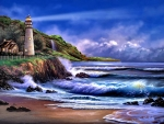 Lighthouse Blue f