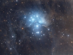M45 The Pleiades Star Cluster