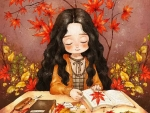 ི♥ྀAutumn Sweet Little Girlི♥ྀ
